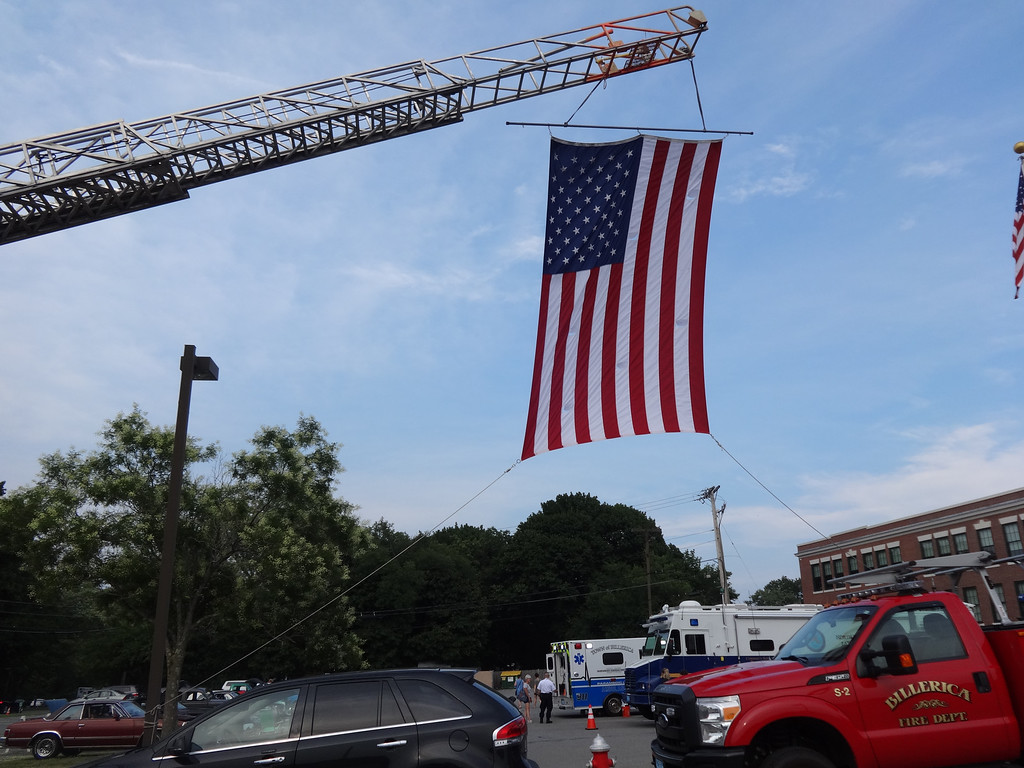 . National Night Out was held on Aug. 7 in Billerica. Photo by Mary Leach