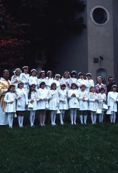 Erstkommunion Maria Lankowitz; 1970ger Jahre