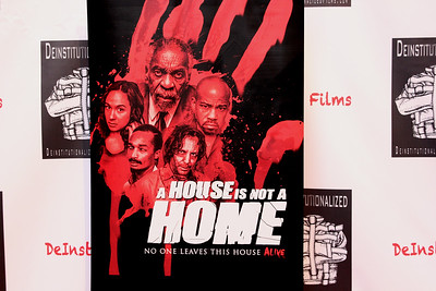 A special red carpet premiere screening of A House is Not a Home with Star/Producer Gerald Webb, Director Christopher Douglas-Olen Ray, Eddie Steeples, Diahnna Nicole Baxter at the Kimmel Center of Performing Arts in Philadelphia, Pennsylvania. The award