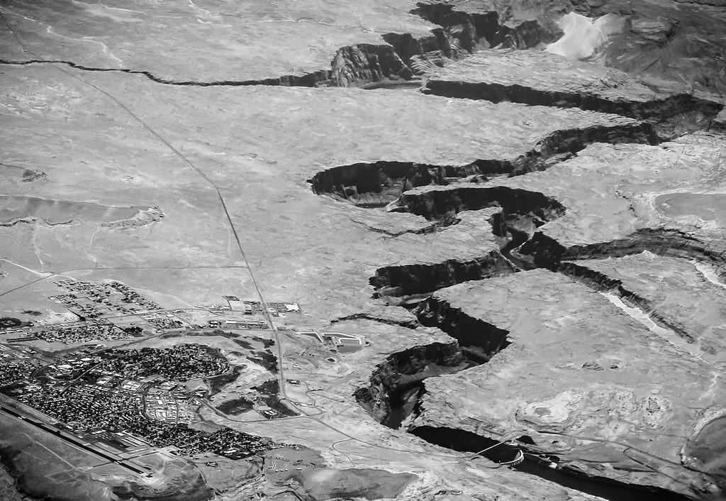 Glen Canyon Dam, near Page Arizona.