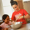 Girls Inc. teaches cooking.