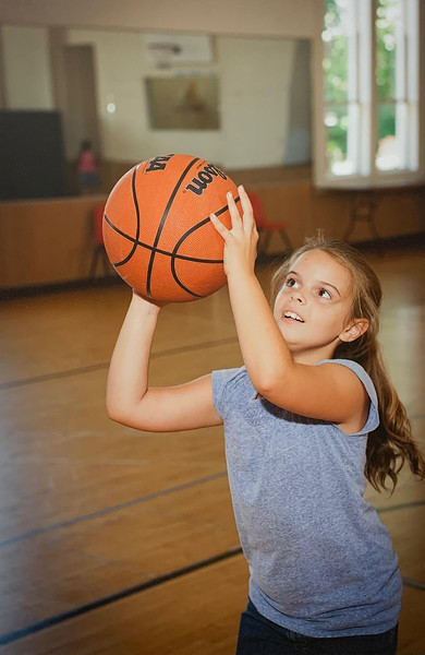 Sports activities are important at Girls Inc.