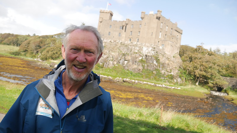 Brian Burnie at Dunvegan Castle