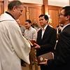Fr. General congratulates the seminarians