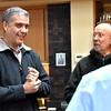 Fr. Carlos Luis visits at the novitiate