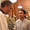Frater Paul with Fr. General