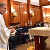 Fr. Carlos Luis talks to those gathered for Ministry of Lector