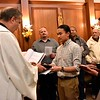 Frater Paul receives the Word