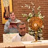 Fr. General leads Adoration at Sacred Heart Monastery