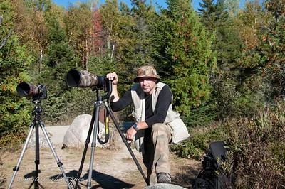 still waiting on the moose; photo by connieBaxter State Park, Maine 10/2010