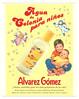 ÁLVAREZ GÓMEZ Agua de Colonia para Niños 2004 Spain (small format) '¡Ahora, también para los más pequeños de la casa!'