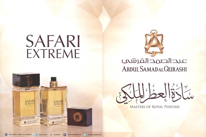 ABDUL SAMAD AL QURASHI Safari Extreme 2014 United Arab Emirates spread