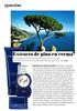 ACQUA DI PARMA Blu Mediterraneo Italian Resort 2015 Spain (adbertorial YoDona) 'Extracto de pino en crema'