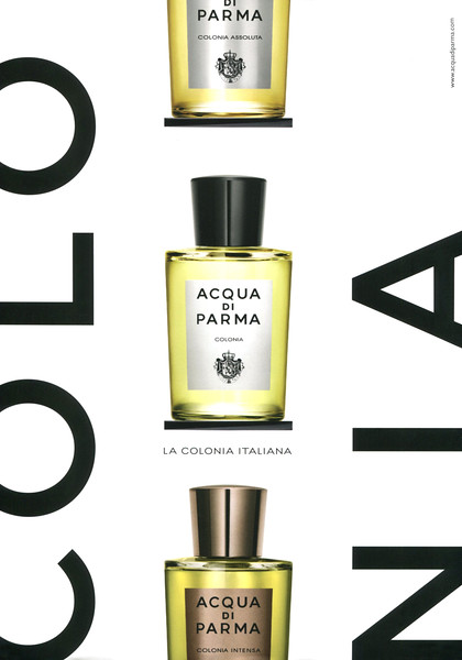 ACQUA DI PARMA Colonia 2015 Germany 'La colonia italiana'