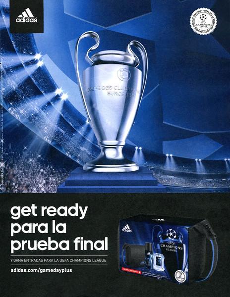 ADIDAS Champions League 2014 Spain <br /> 'Get ready para la prueba final y gana entradas para la UEFA Champions League'