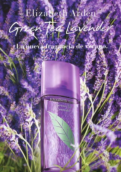 ELIZABETH ARDEN Green Tea Lavender 2010 Spain 'La nueva fragancia de verano