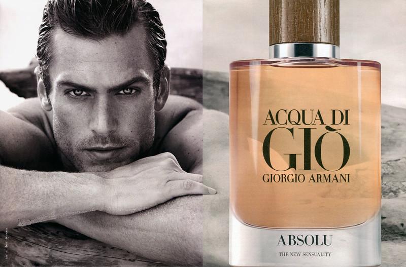GIORGIO ARMANI Acqua di Giò pour Homme Absolu 2018 Spain spread 'Absolu - the new sensuality'
