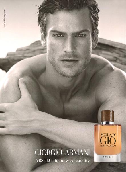 GIORGIO ARMANI Acqua di Giò pour Homme Absolu 2018 Spain 'Absolu - the new sensuality'