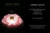 GIORGIO ARMANI Privé Pivoine Suzhou 2015 Hong Kong (glossy recto-verso card) 'Haute Couture Fragrances'