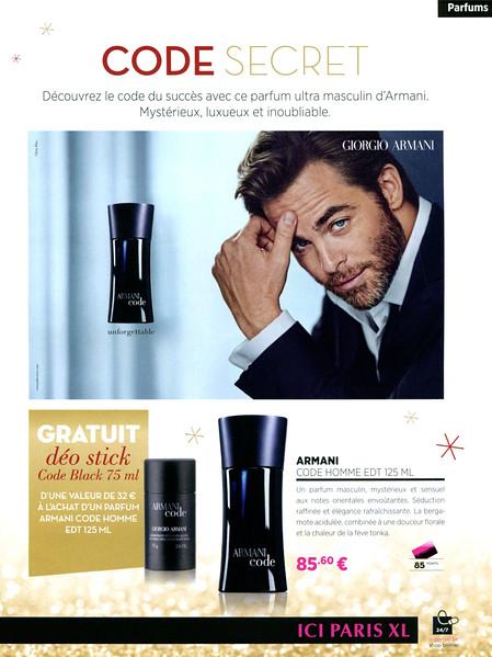 ARMANI Code for Men 2015 Belgium (Ici Paris stores)  Code secret -  Inforgettable f8784468bab8