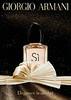 GIORGIO ARMANI Sì Eau de Parfum 2015 Belgium 'Elegance is an Art'
