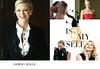 GIORGIO ARMANI Sì Eau de Parfum 2017 UK spread 'Sì is myself'<br /> Vertical line: 'armanibeauty.co.uk'<br /> <br /> MODEL:  Cate Blanchett, PHOTO: Matthew Frost