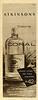 ATKINSONS Coral 1957 Argentina half page 'Colonia - Medio litro de fina colonia $42 - En dos fragancias: Bouquet de Flores - Extra Fresca'