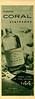 ATKINSONS Coral 1957 Argentina half page 'Colonia - Medio litro de fina colonia $44 - En dos fragancias: Bouquet de Flores - Extra Fresca'