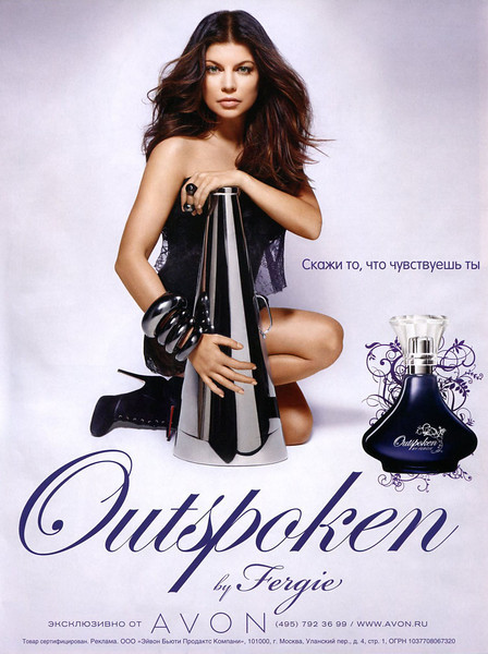 Outspoken By Fergie Glossypages