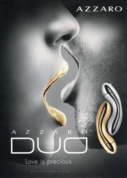 AZZARO Duo 2011 Belgium 'Love is precious'