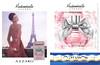 Mademoiselle AZZARO 2016 Russia (L'Étoile stores) recto-verso with scent sticker handbag size format
