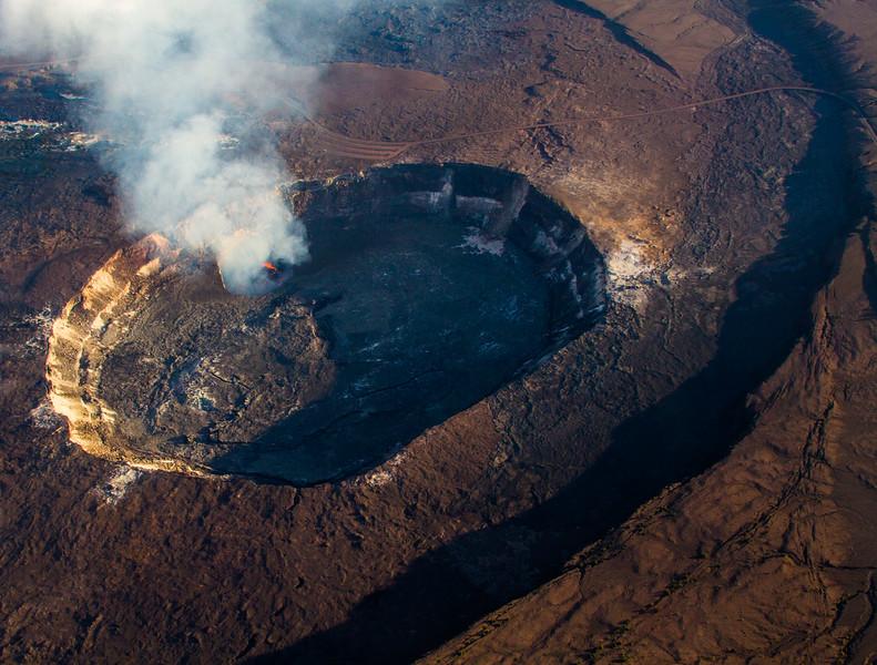 Kilauea Crater Big Isalnd Hawaii