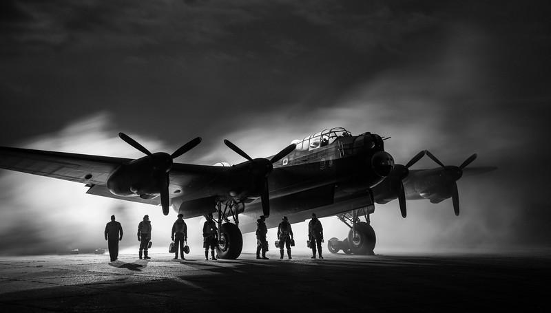 Avro Lancaster - Just Jane - Timeline Event - East Kirkby (November 2017)
