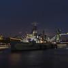 HMS Belfast - Tower of London & Tower Bridge - River Thames - London (October 2019)