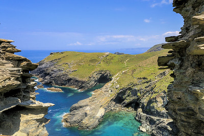 Tintagel Castle - Cornwall (June 2014)