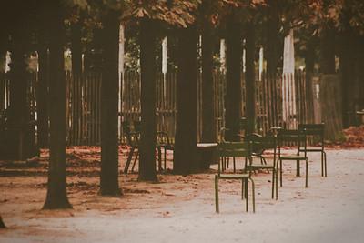 Jardin des Tuileries S E P T E M B E R  in Paris
