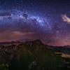 Machu Picchu and the Milky Way