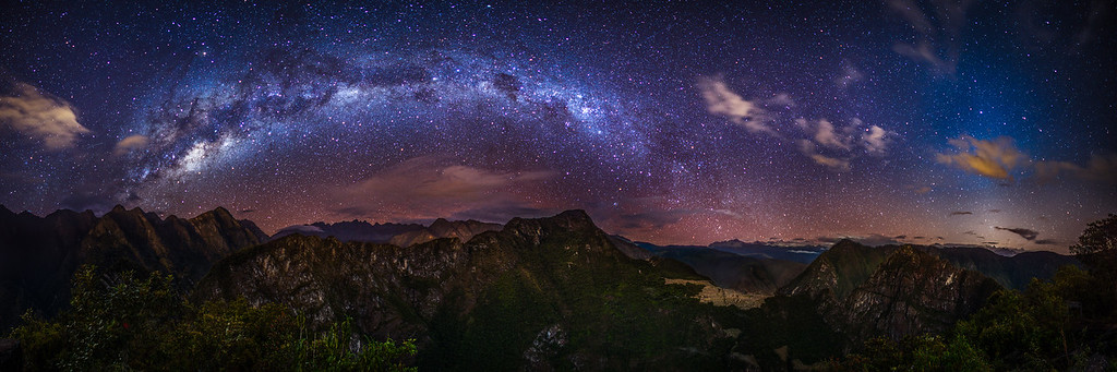 Machu Picchu and the Milky Way
