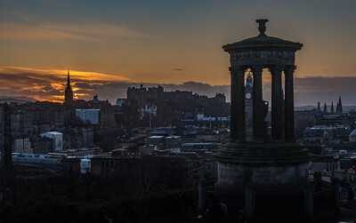 Calton Hill - Edinburgh - Scotland (January 2020)