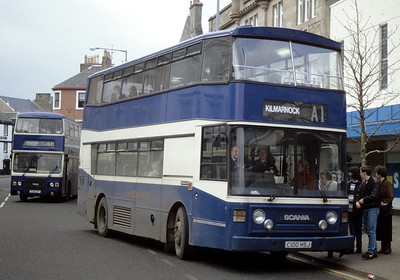 A1 Service C100HSJ High St Irvine Feb 94