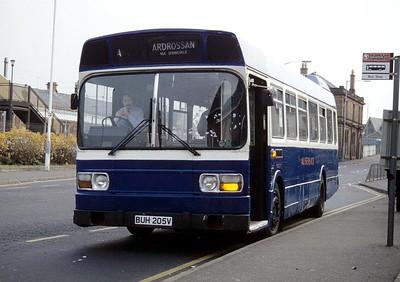 A1 Service BUH205V Vernon St Saltcoats Nov 93
