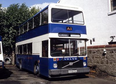 A1 Service A308RSU Depot Irvine Aug 94