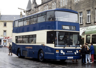 A1 Service C100HSJ High St Irvine Apr 86