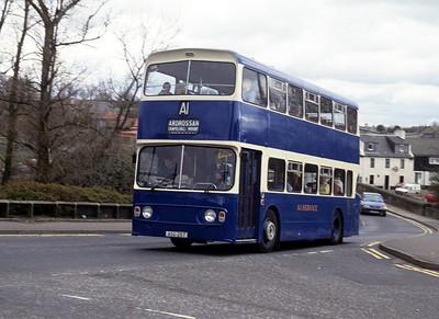 A1 Service ASD25T Bridgend Kilwinning Apr 92