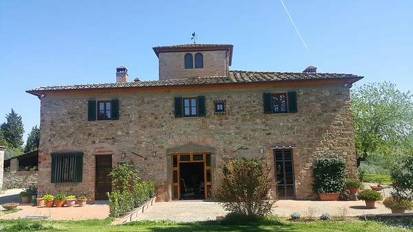 A11 - CHIANTI CLASSICO - Idyllic Portion of Restored Farmhouse