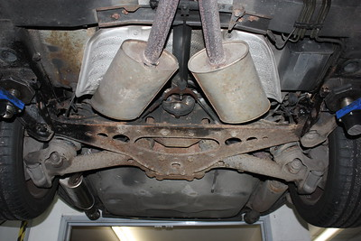 Rear subframe quite rusty