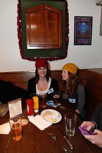 Lisa and Kiki Staredown