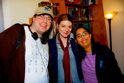 Erik,Amber Benson and Michele