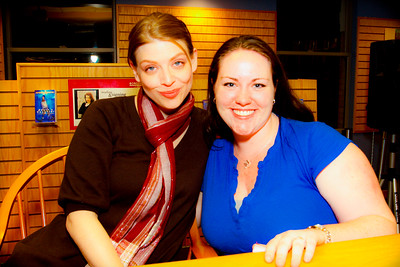 Amber Benson and Meredith