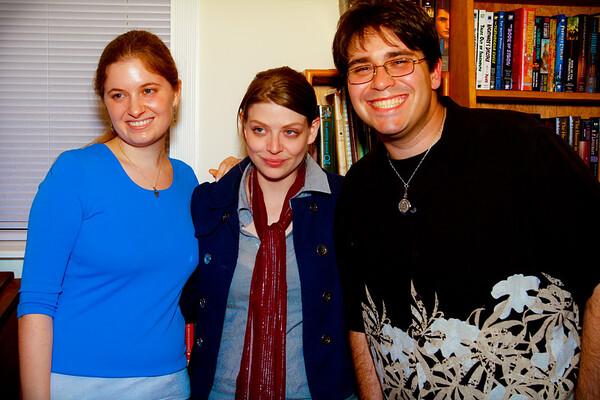 Abigail Stone,Amber Benson and Mark Simmons